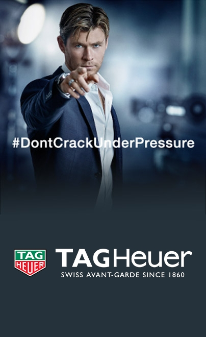 Chris Hemsworth, Australia actor, and Tag Heuer brand ambassador
