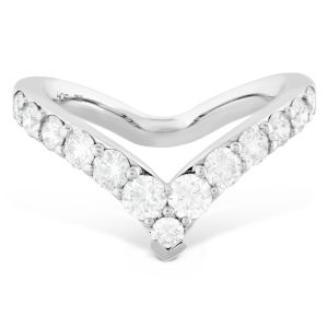 Hearts on Fire Triplicity Single Pointed Ring