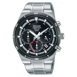 Pulsar PZ5041X Silver Stainless Steel Mens Watch