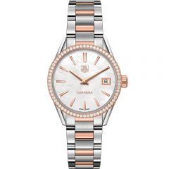 TAG Heuer Carrera WAR1353BD0779 Diamond Set Womens Watch