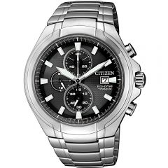 Citizen Eco-Drive Super Titanium CA0700-86E Silver Stainless Steel Mens Watch