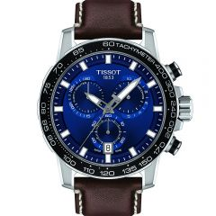 Tissot Supersport Chrono T1256171604100 Brown Leather Mens Watch