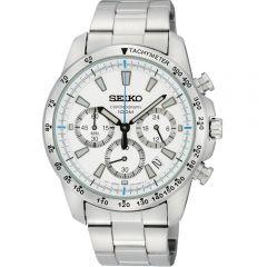 Seiko SSB025P Chronograph Stainless Steel Mens Watch