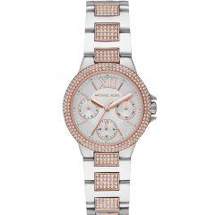 Michael Kors MK6846 Chronograph Stone Set Two Tone Ladies Watch