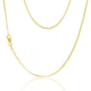 9ct Yellow Gold 50cm Curb Chain