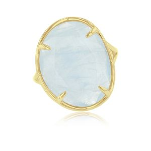Aquamarine Ring in 14ct Gold