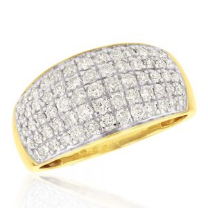 Pave Ring with 1.00ct TW of Diamonds
