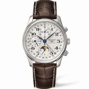Longines Master Collection L26734785 Brown Leather Mens Watch