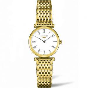 La Grande Classique Longines L42092118 Gold Stainless Steel Womens Watch