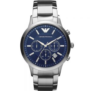Emporio Armani AR2448 Stainless Steel Gents Chronograph Watch