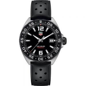 TAG Heuer Formula 1 Grande WAZ1110FT8023 Black Rubber Mens Watch