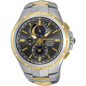 Seiko SSC376P-9 Coutura Chronograph Perpetual Solar Mens Watch