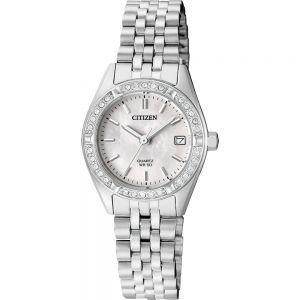 Citizen EU6060-55D Crystal Set Womens Watch