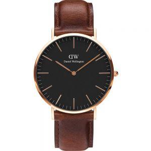 Daniel Wellington DW00100124 Classic Black St Mawes Mens Watch