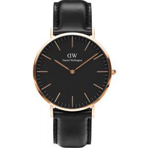 Daniel Wellington DW00100127 Classic Black Sheffield Mens Watch