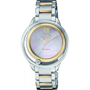 Citizen Eco Drive EW5514-87D Diamond Set Ladies Watch