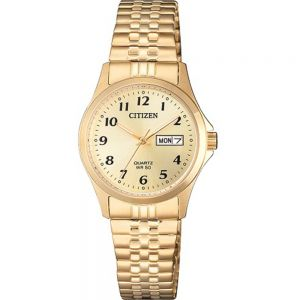 Citizen EQ200291P Gold Ladies Watch