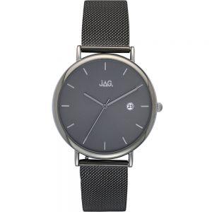 Jag Ryan J2153A Gunmetal Grey Mens Watch with Bonus Strap