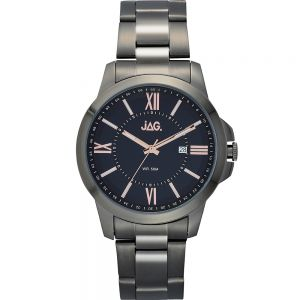 Jag Xavier J2157A Mens Gunmetal Grey Stainless Steel Mens Watch