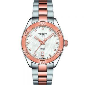 Tissot PR100 Sport Chic T1019102211600 Stainless Steel Womens Watch