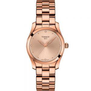 TISSOT T-WAVE T1122103345600 Diamond Dial Womens Watch