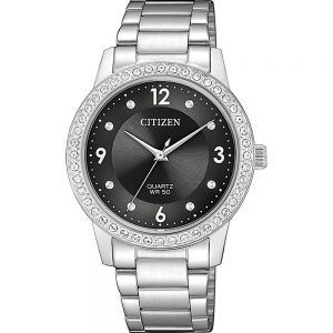 Citizen EL3090-81H Silver Stainless Steel Womens Watch