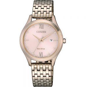 Citizen EW2533-89X Gold Stainless Steel Womens Watch