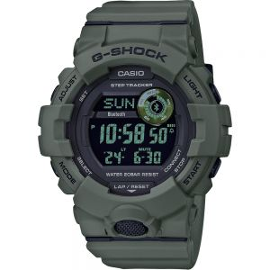G-Shock GBD800UC-3D Step Tracker with Bluetooth Green Resin Mens Watch