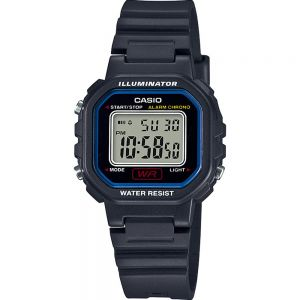 Casio LA20WH-1C Black Resin Kids Watch