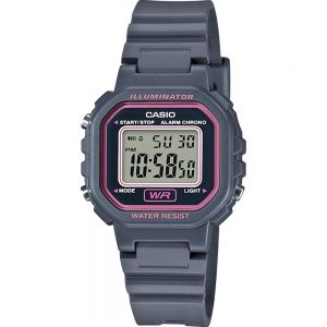 Casio LA20WH-8A Grey Resin Kids Watch