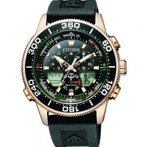 Citizen Promaster JR4063-12E Black Rubber Mens Watch