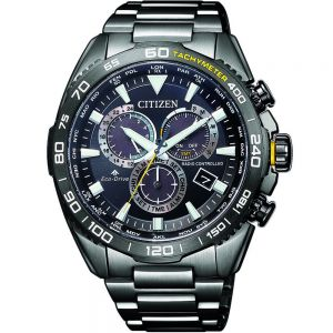 Citizen Promaster CB5037-84E Black Stainless Steel Mens Watch