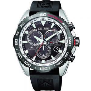 Citizen Promaster CB5036-10X Black Rubber Mens Watch