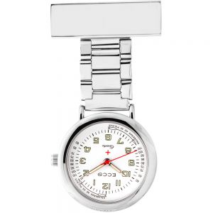 ECC Nurses Fob Watch Steel Links