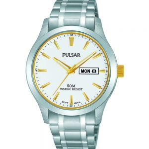Pulsar PV3015X Silver Mens Watch