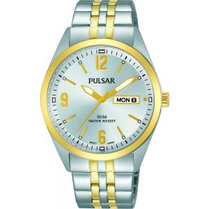 Pulsar PV3012X Silver Mens Watch