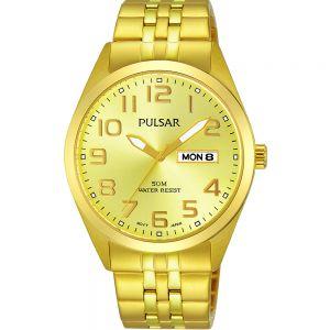 Pulsar PV3010X Gold Mens Watch