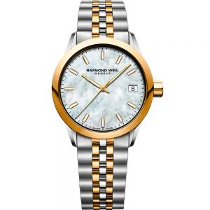 Raymond Weil Freelancer 5634-STP-97021 Ladies Two-Tone Watch