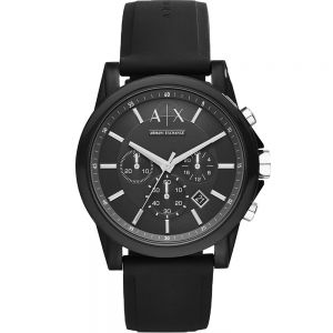 Armani Exchange Outerbanks AX1326 Black Chronograph 30Metre Water Resistant