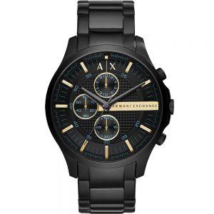 Armani Exchange Hampton AX2164 Black 50Metres Water Resistant Mens Watch