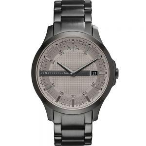 Armani Exchange Hampton AX2194 Grey 50Metres Water Resistant Mens Watch