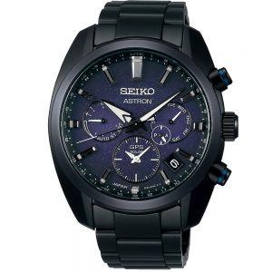 Seiko SSH077J Astron Black Chronograph Watch