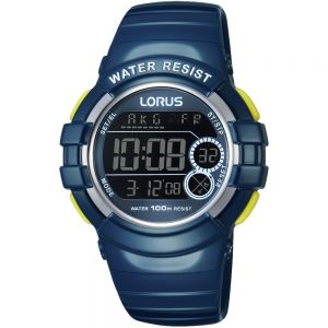 Lorus R2315KX9 Chrono Digital Unisex Blue Watch