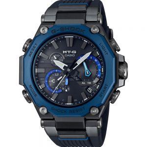 G-Shock MT-G Model MTG-B2000B-1A Solar Black and Blue