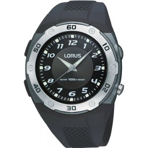 Lorus R2333DX-9 Black Sports Unisex Watch