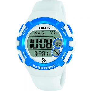 Lorus R2393LX-9 Digital Chrono White Unisex Watch