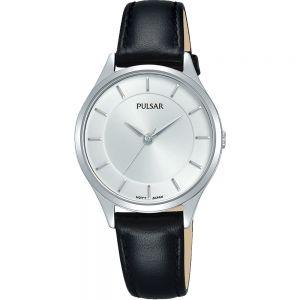 Pulsar PH8425X Leather Strap Dress Watch