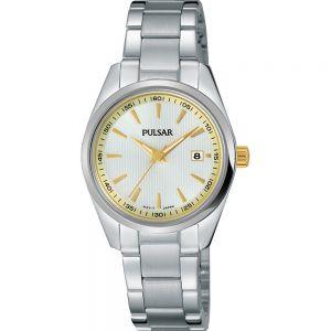 Pulsar PJ2021X Silver Tone Womens Watch