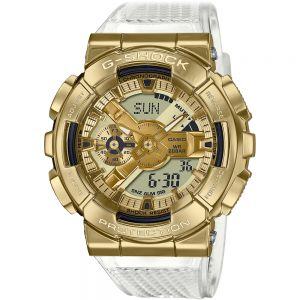G-Shock GM110SG-9A Gold and White Tone Watch