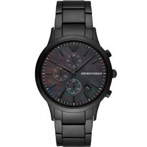 Emporio Armani AR11275 Black Stainless Steel Mens Watch